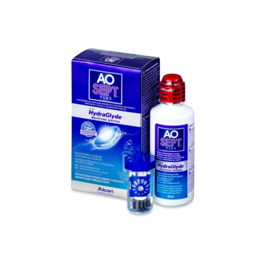Aosept Plus with Hydraglyde 90 ml