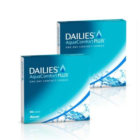 2xDailies Aqua Comfort Plus 90 db