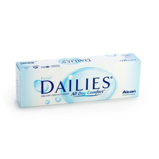 Dailies Aqua Comfort Plus - napi kontaktlencse