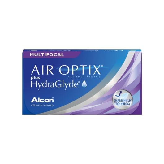 Air Optix Plus Hydraglyde Multifocal 3 db